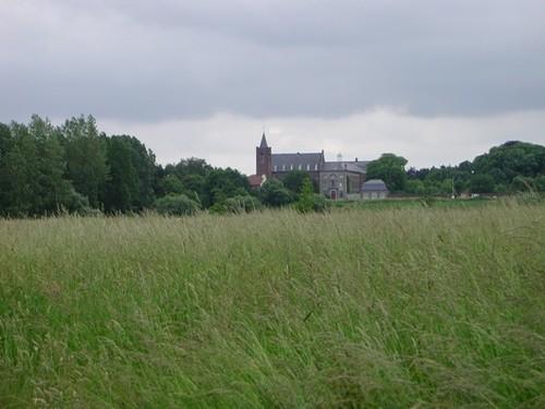 Hekelgem (Affligem), de abdij van Affligem