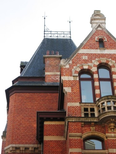 Antwerpen Le Grellelei 5 traptoren