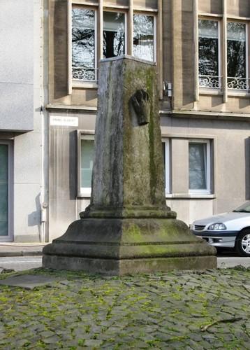 Antwerpen Mechelsesteenweg grenssteen