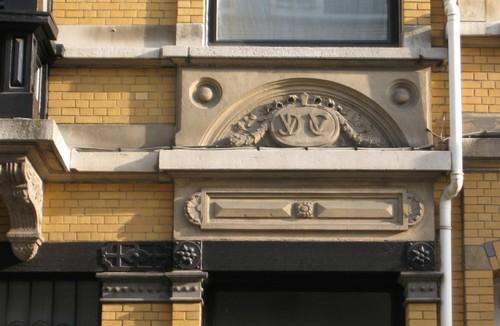 Antwerpen Theophiel Roucourtstraat 24 portaal