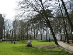 Diverse kunstwerken en paviljoen Braem Middelheimpark (https://id.erfgoed.net/afbeeldingen/222328)