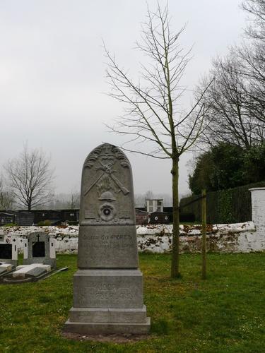 Lokeren Daknam kerkhof Vredesboom (2) (Custom)