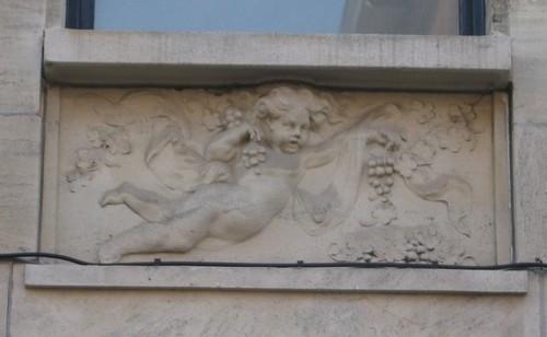 Antwerpen Kardinaal Mercierlei 28 reliëf