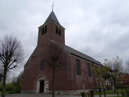 Assenede Koning Albertstraat zonder nummer Parochiekerk Heilig Kruis en Onze-Lieve-Vrouw