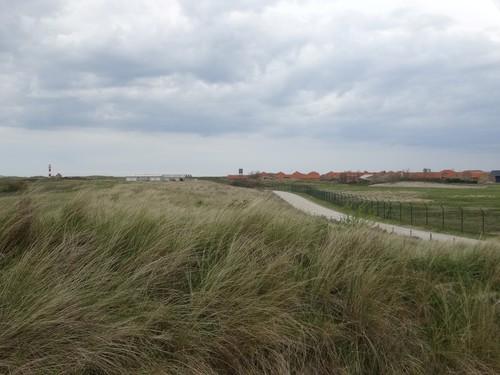 duinen ten oosten van de Ijzermonding