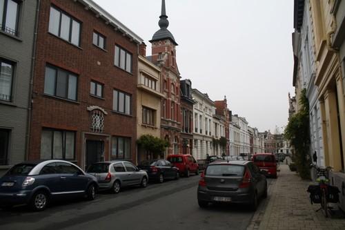 Antwerpen Tweelingenstraat 74 aflopend