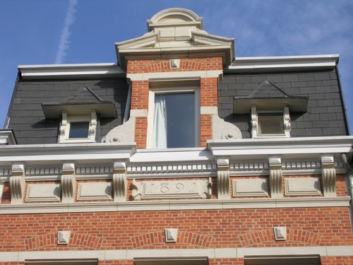 Antwerpen Dolfijnstraat  33 jaartal 1891