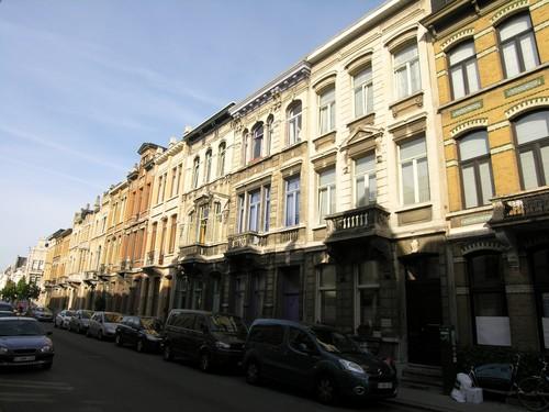 Antwerpen Dolfijnstraat straatbeeld tot 67