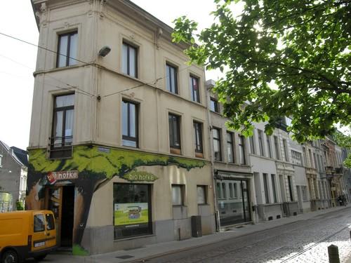 Antwerpen Kleinebeerstraat 1 oplopend