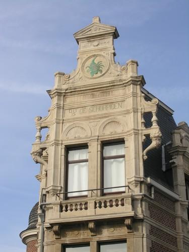 Antwerpen Dolfijnstraat 49 detail