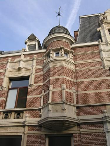 Antwerpen Dolfijnstraat 49 torentje