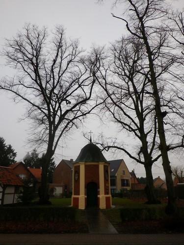 Herselt Diestsebaan Lindes bij Kapelleke van de Maarschalk (1)