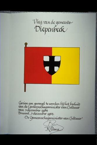 Diepenbeek Vlag