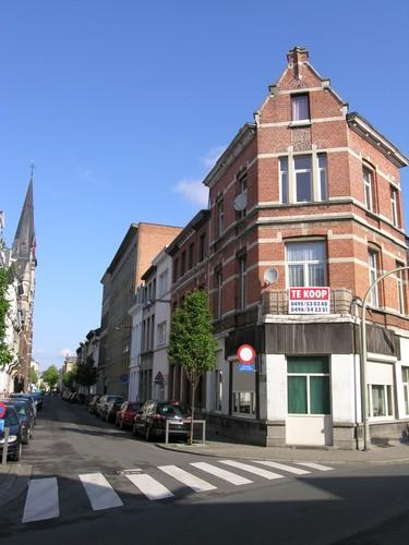 Antwerpen Korte Altaarstraat oneven straatzijde