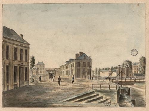 De Brugse Poort in Gent