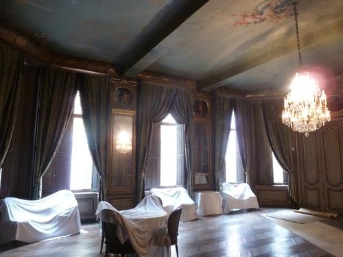 Octogonale salon