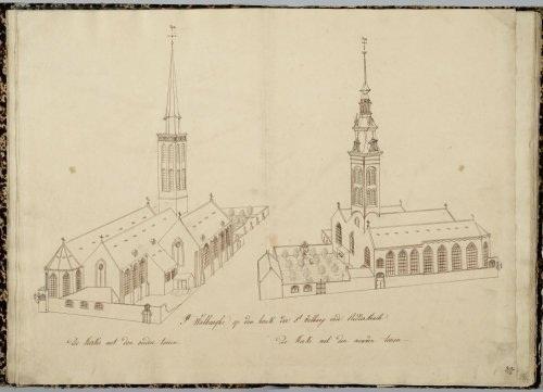 St Walburgakerk, Gaillard J., 1825