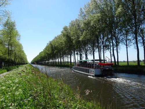 segment van de Damse Vaart tussen Damme en Brugge
