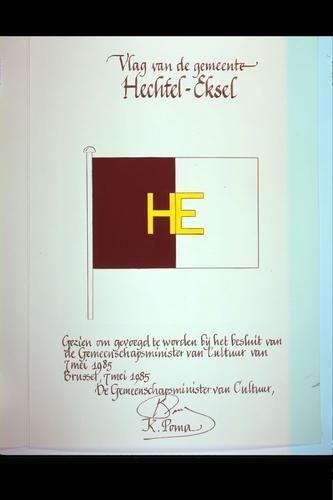 Hechtel-Eksel Vlag