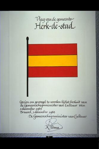 Herk-de-stad Vlag