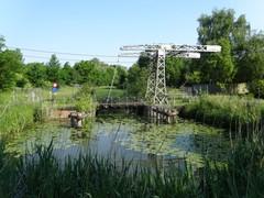 Kanaal Bossuit-Kortrijk, Sint-Pietersbrugje en Orveytbos