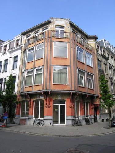 Antwerpen De Boeystraat 16 hoek Provinciestraat