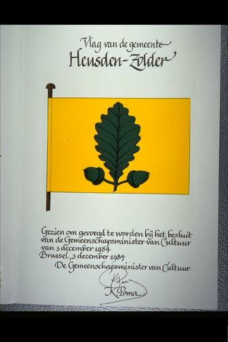 Heusden-Zolder Vlag