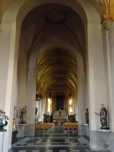 Evergem Sleidinge-Dorp zonder nummer Interieur van parochiekerk Sint-Joris
