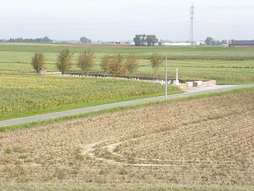 Ieper, Hogeziekenweg, Buffs road cemetery