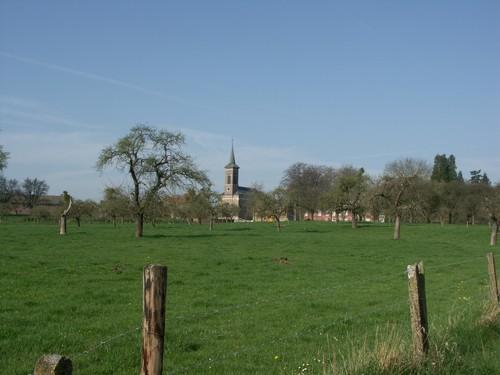 Bommershoven met hoogstamboomgaard