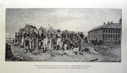 Napoleon heeft het bevel voor het graven van de dokken