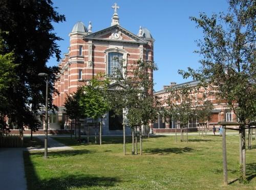 Antwerpen Militair Hospitaal kapel en paviljoenen