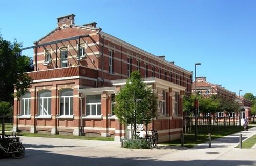 Antwerpen Militair Hospitaal paviljoenen