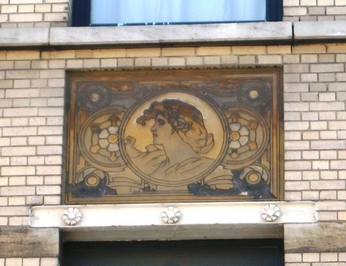 Antwerpen Marialei 56 sgraffito