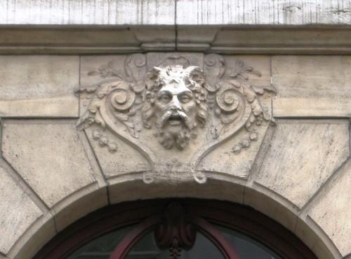 Antwerpen Hertoginstraat 6 sluitsteen