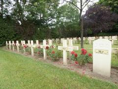 Franse militaire begraafplaats