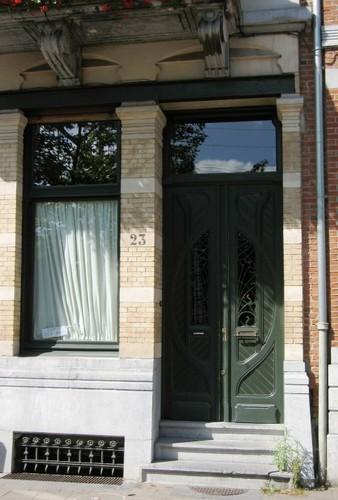Antwerpen Stanleystraat 23 portaal