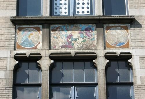 Antwerpen Stanleystraat 24 mozaïekpanelen
