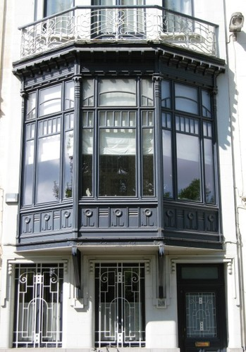 Antwerpen Stanleystraat 28 erker