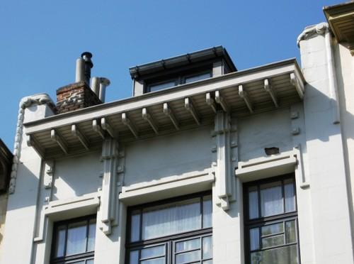 Antwerpen Stanleystraat 28 kroonlijst