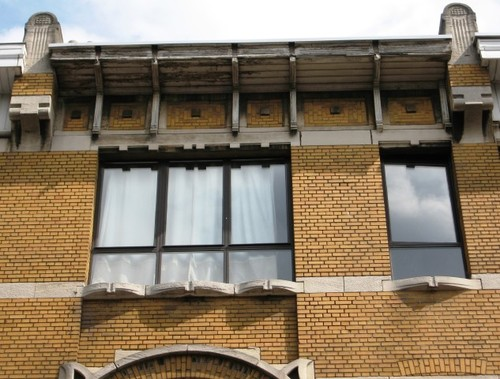 Antwerpen Van Diepenbeeckstraat 9-17 kroonlijst