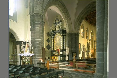 Brugge Moerstraat 1 Interieur van de Sint-Jacobskerk