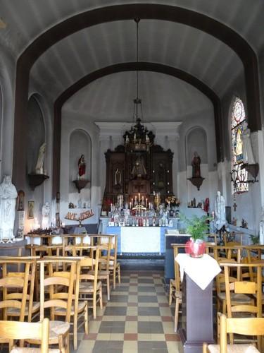 Sint-Niklaas Tereken zonder nummer Interieur van de kapel Onze-Lieve-Vrouw van Halle