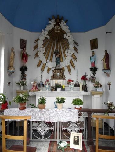 Sint-Niklaas Lokerse Baan zonder nummer Interieur van de Onze-Lieve-Vrouwekapel