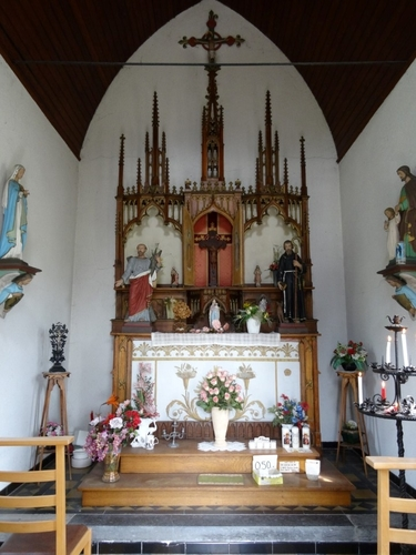 Sint-Niklaas Rozenlaan zonder nummer Interieur van de Sint-Andrieskapel