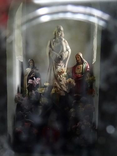 Waasmunster Schietakkerstraat zonder nummer Interieur van de Onze-Lieve-Vrouw Hulp der Christenenkapel