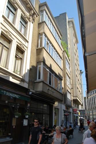 Antwerpen Meirbrug 2 gevel Wiegstraat