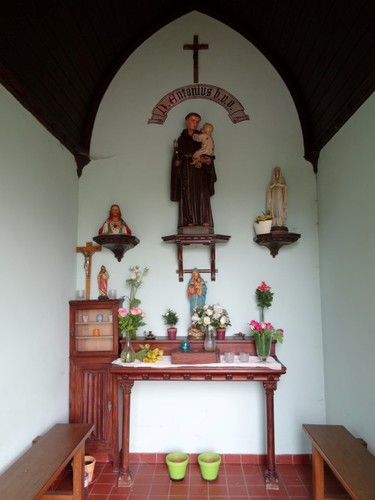 Gent Baarleveldestraat Interieur van de kapel