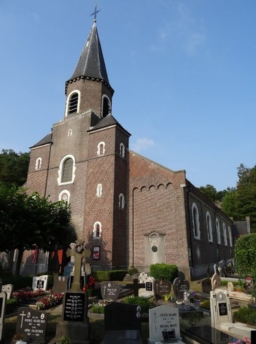 Sint-Martens-Latem Dorpsstraat zonder nummer Ingangszijde van de Sint-Aldegondekerk