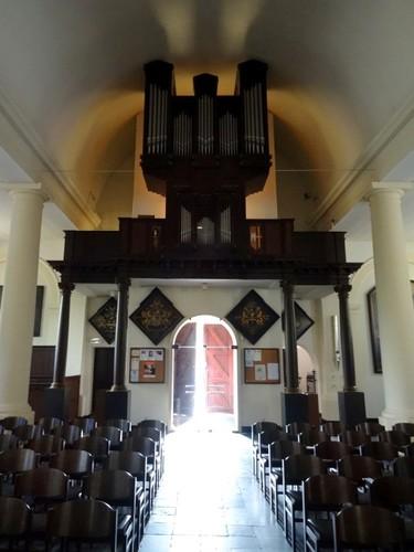 Sint-Martens-Latem Dorpsstraat zonder nummer Orgel in de Sint-Aldegondekerk